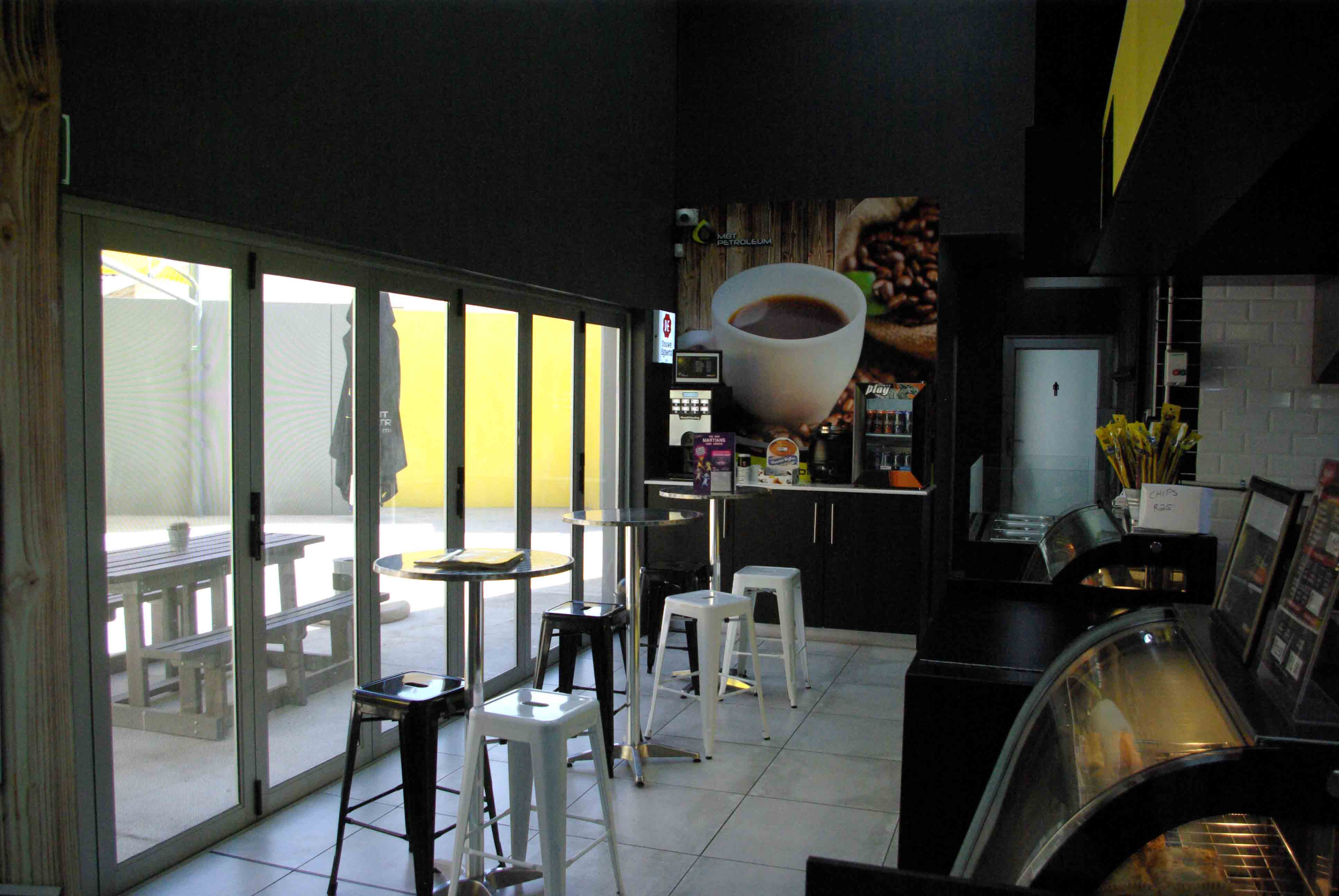 Petroleum dealerships Buzz Cafe