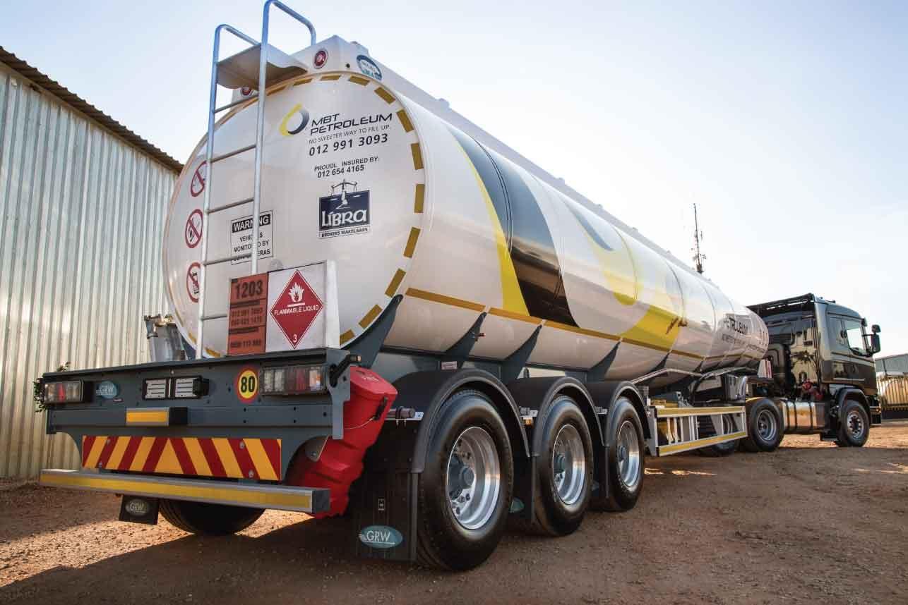MBT Petroleum Fuel Company Fleet